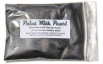 25 Gram Bag of our Darkest Black yet, Black Emerald Color Pearls.