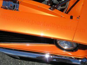 Bright Orange Color Pearls