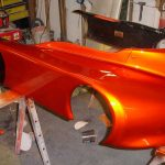 Copperhead Go Kart painted with our Gold Illusion Pearls®