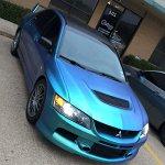 Eclipse Auto Salon uses ColorShift Pearls 4779BG on this custom paint job.