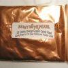 25 Gram Bag Orange Copper Color Pearls
