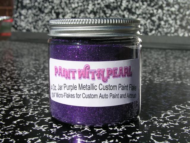 Purple Metal Flake | Color Shift Pearls