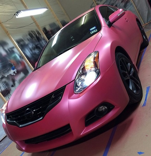 Deep Pink Candy Pearl Custom Paint Color Shift Pearls