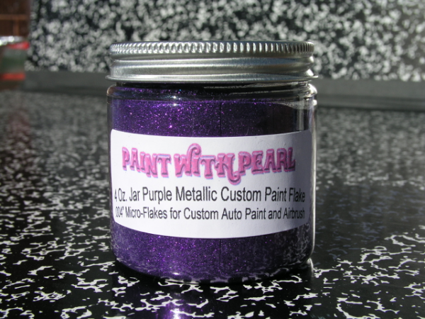 Purple Metal Flake | Color Shift Pearls
