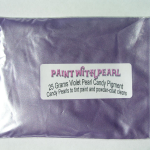 Bag of Violet Color Pearls ®