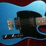 Electric Blue Guitar.