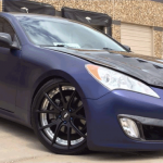 Eclipse VIP Auto Spa did this nice matte finish Midnight Blue Candy Paint Pearl