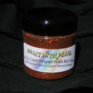4 oz of Orange Copper Holographic