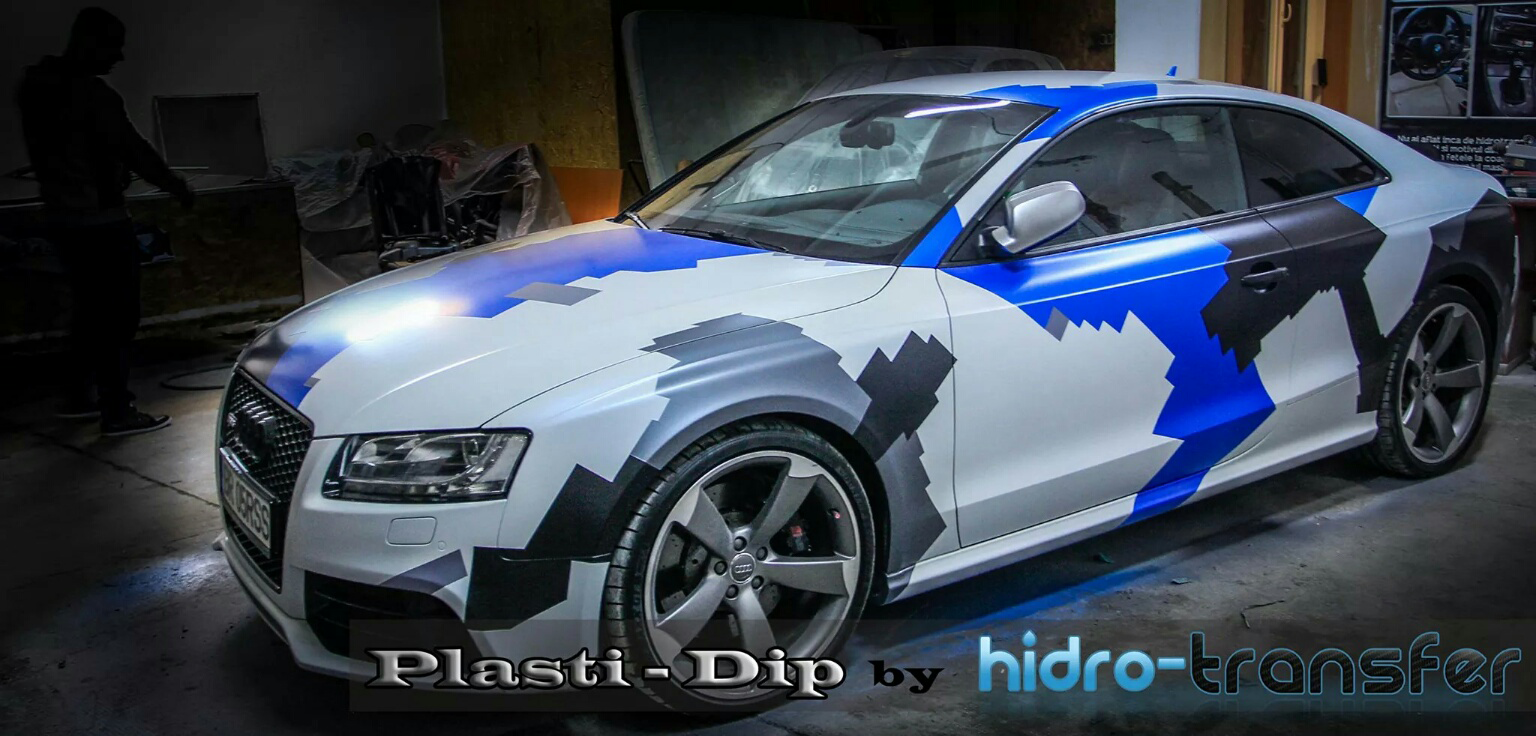 Audi Dipped in multi color with ghost pearl and Color Pearls.