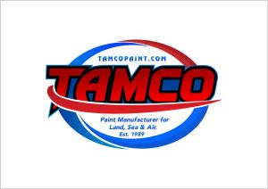 Tamco Logo. One of the quality wet paints shipped free by Paint With Pearl.