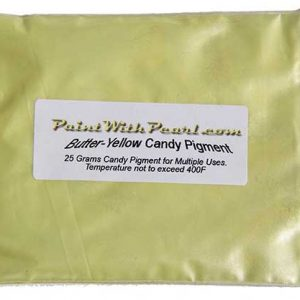 25 Gram Bag Butter Yellow Candy Paint Pearl.