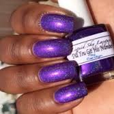 custom made finger nail polish with our candy pigments and metallic flakes