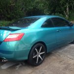 blue green flip pigment for cars