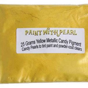 Yellow Metallic Paint Color Pearls